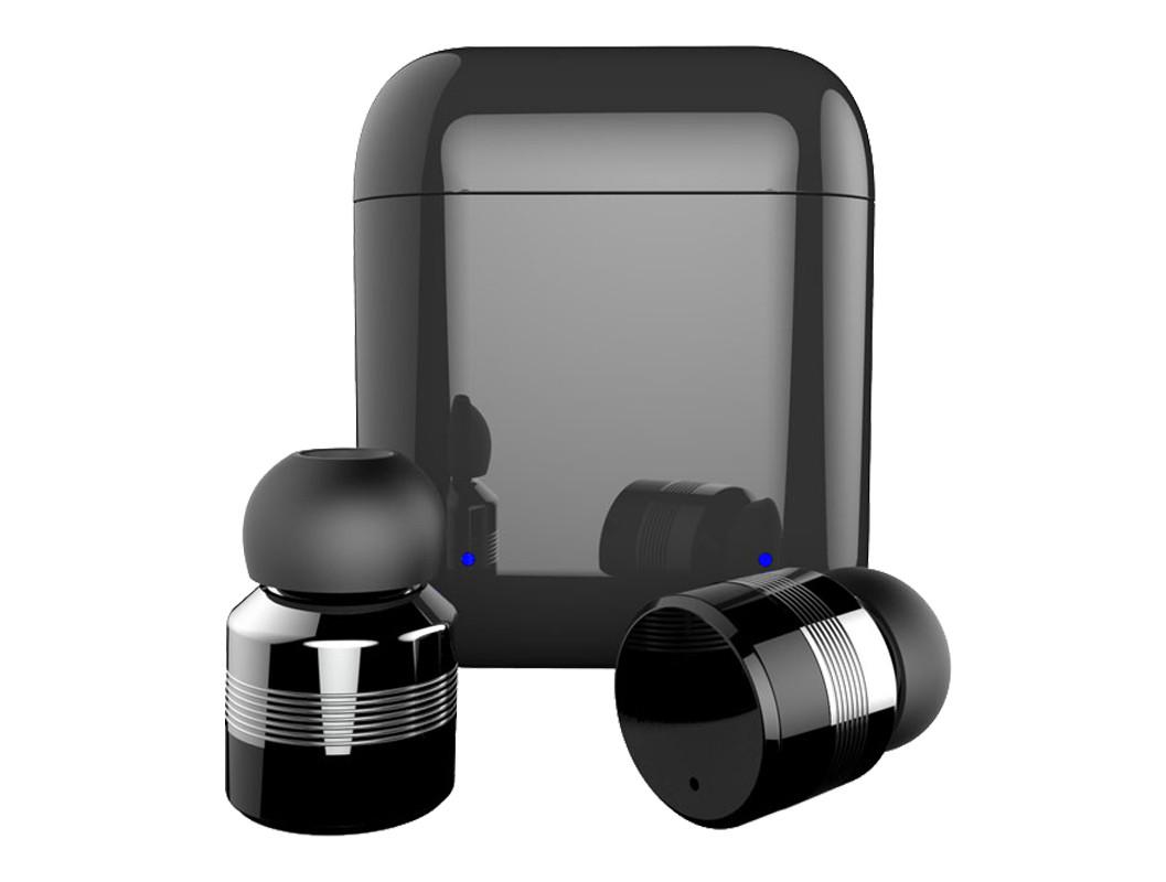 Bezdrátová, dotyková bluetooth5 sluchátka EAR MINI, černá