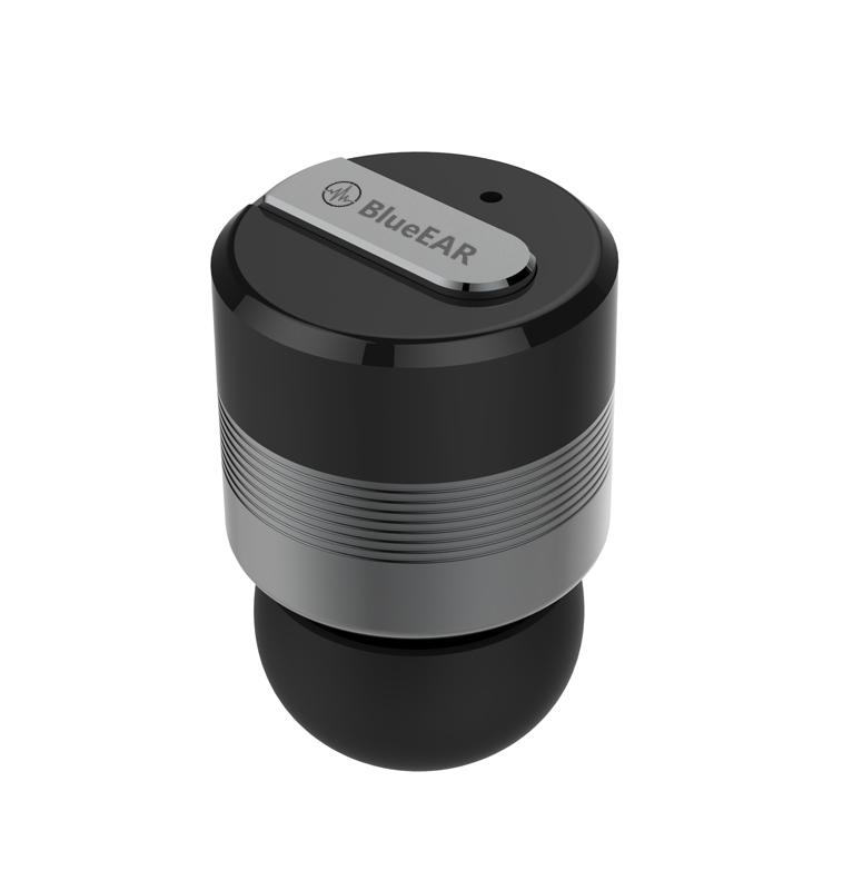 Bezdrátová bluetooth sluchátka s powerbankou, metalická šedá-2