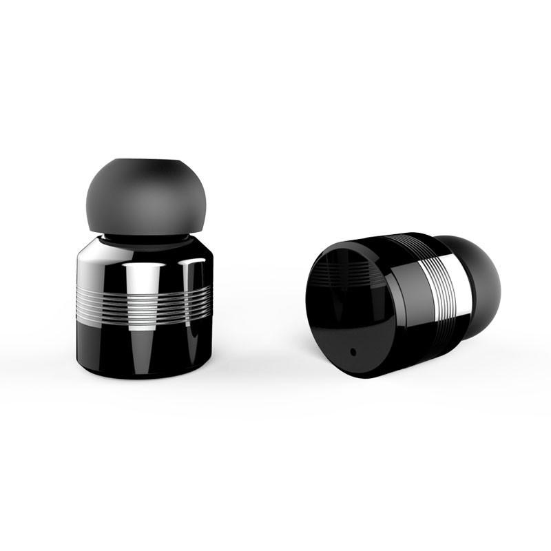 Bezdrátová, dotyková bluetooth5 sluchátka EAR MINI, černá-1